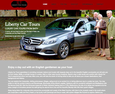 Liberty Car Tours screenshot for FarOffice Limited